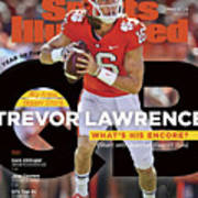 Year Of The Qb Clemson University Trevor Lawrence, 2019 Sports Illustrated Cover Art Print