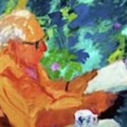 Yehuda Reading Art Print