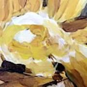 Yellow #4 Art Print