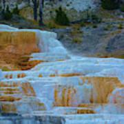 Yellowstone Mineral Deposits Art Print