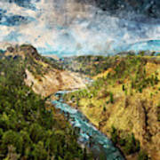 Yellowstone National Park - 05 Art Print
