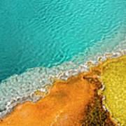 Yellowstone West Thumb Thermal Pool Art Print