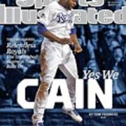 Yes We Cain 2015 World Series Preview Issue Sports Illustrated Cover Art Print