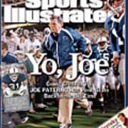 Yo, Joe Going Great At 78, Joe Paterno Has Penn State Back Sports Illustrated Cover Art Print