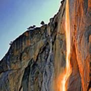 Yosemite Firefall Art Print