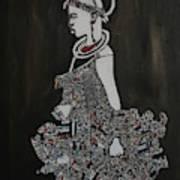 Young Fulani Girl Art Print