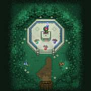 Zelda Mastersword Art Print