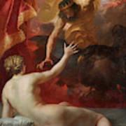 Zeus And Semele Art Print
