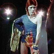 Ziggy Stardust Era Bowie Art Print