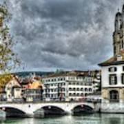 Zurich Switzerland Art Print