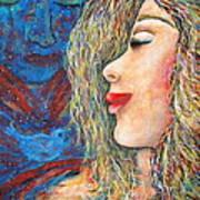 Blue Bird Blue Bird Art Print