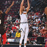 2021 NBA Playoffs - Denver Nuggets v Portland Trail Blazers Art Print