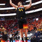 2021 NBA Playoffs - Memphis Grizzlies v Utah Jazz Art Print