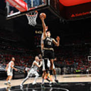 2021 NBA Playoffs - Milwaukee Bucks v Atlanta Hawks Art Print