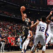 2021 NBA Playoffs - Philadelphia 76ers v Atlanta Hawks Art Print