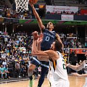 2021 NBA Playoffs - Utah Jazz v Memphis Grizzlies Art Print