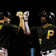 Andrew Mccutchen and Neil Walker Art Print