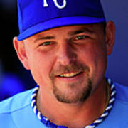 Billy Butler Art Print