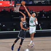 Brooklyn Nets v Boston Celtics Art Print