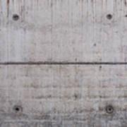 Concrete Wall Background Art Print