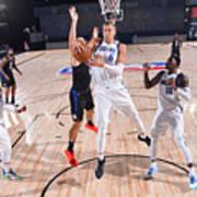 Dallas Mavericks v LA Clippers - Game One Art Print