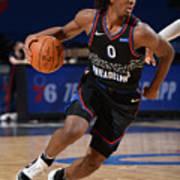 Denver Nuggets v Philadelphia 76ers Art Print