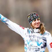 FIS Freestyle Ski World Championships - Men's and Women's Ski Cross Art Print