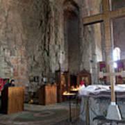 Inside the Jvari Church, Mtskheta Art Print
