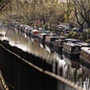 Londoners Enjoy The Warm Spring Weather Art Print