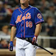 New York Yankees V New York Mets Art Print