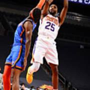 Oklahoma City Thunder v Phoenix Suns Art Print