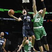 Orlando Magic v Boston Celtics Art Print