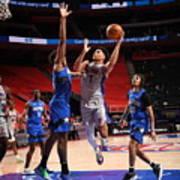 Orlando Magic v Detroit Pistons Art Print