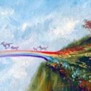Rainbow Bridge II Art Print