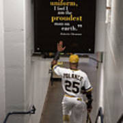 Roberto Clemente And Gregory Polanco Art Print