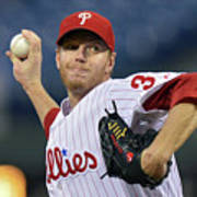 Roy Halladay Art Print
