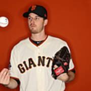 San Francisco Giants Photo Day Art Print