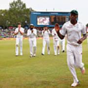 South Africa v England - Fourth Test: Day Three Art Print
