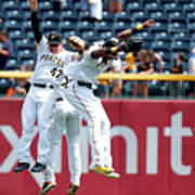 Starling Marte and Gregory Polanco Art Print