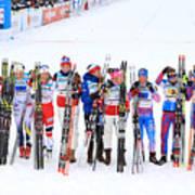 Women's Cross Country Relay - FIS Nordic World Ski Championships Art Print