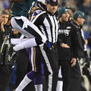 NFL: JAN 21 NFC Championship Game - Vikings at Eagles Art Print