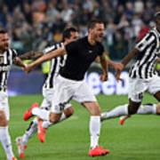 Juventus v Atalanta BC - Serie A Art Print