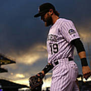 Charlie Blackmon Art Print