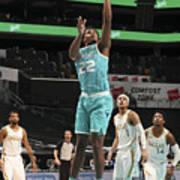 Dallas Mavericks v Charlotte Hornets Art Print