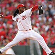 Johnny Cueto Art Print