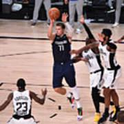 Los Angeles Clippers v Dallas Mavericks - Game Four Art Print