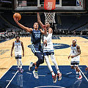 Memphis Grizzlies v Minnesota Timberwolves Art Print