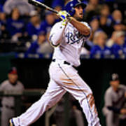 Mike Moustakas Art Print