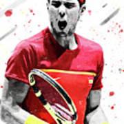 Rafael Nadal Digital Art By Smh Yrdbk
