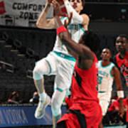 Toronto Raptors v Charlotte Hornets Art Print